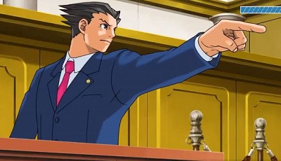 Phoenix Wright: Ace Attorney Trilogy Gameplay