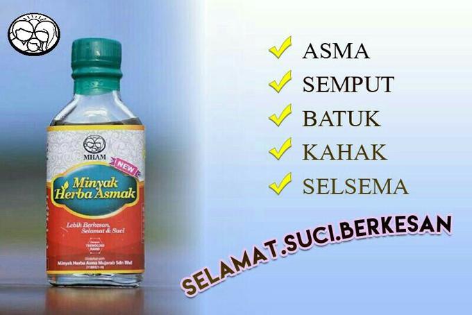 Minyak Herba Asmak Syarikat Minyak Herba Asma Mujarab Sdn Bhd