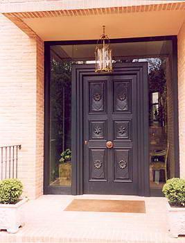 puertas aluminio exterior precios