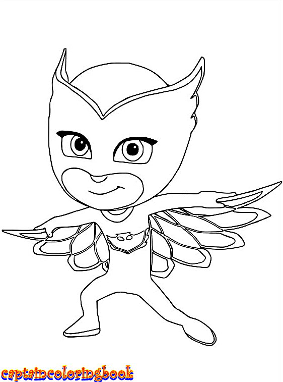Pj Masks Disney Junior Coloring