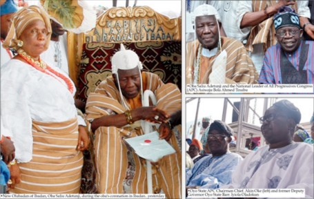 Celebration In Ibadan As New Olubadan Is Crowned (Photos)