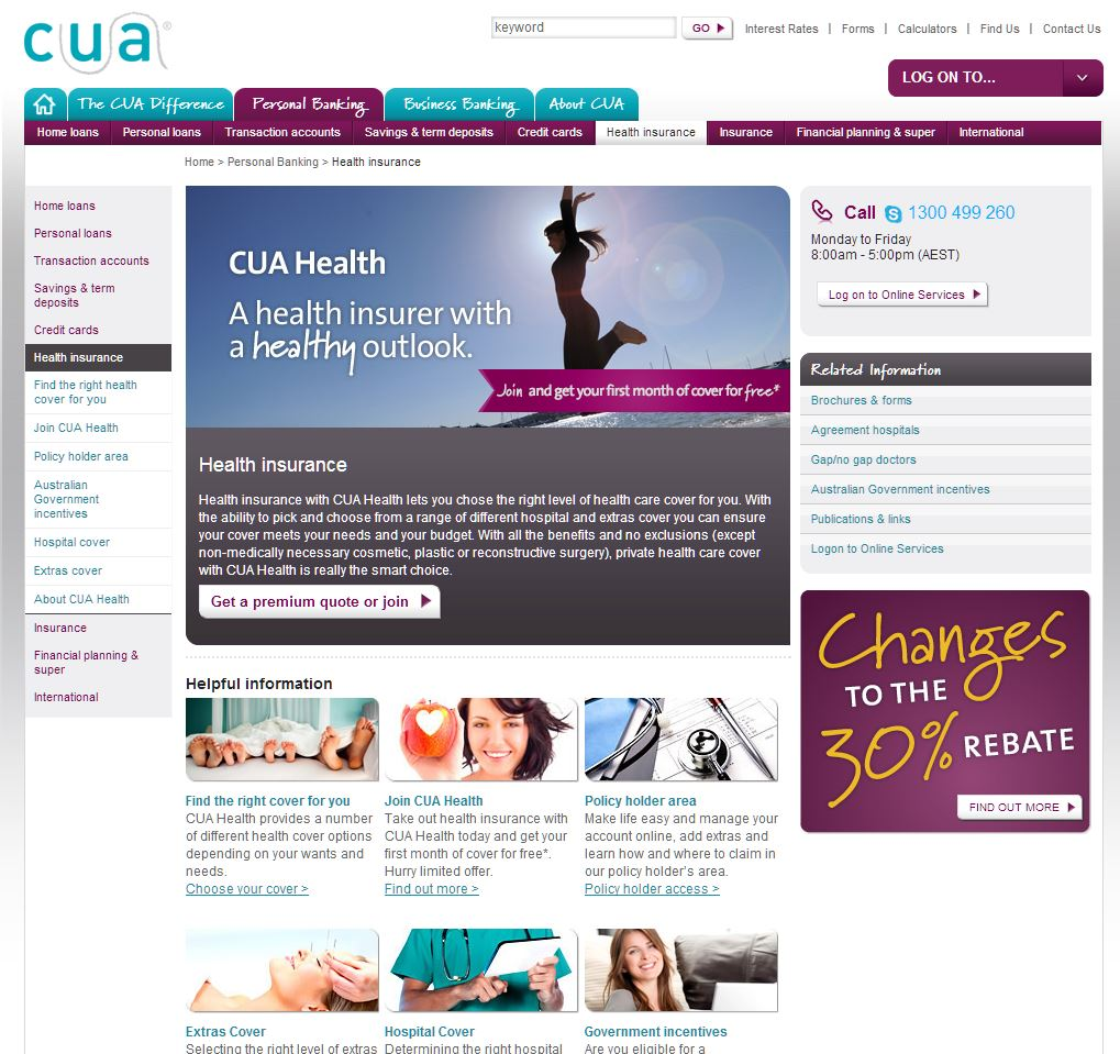 CUA HEALTH LIMITED