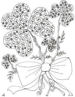 Make it easy crafts: St. Patrick's Day free coloring page