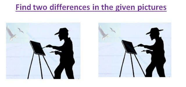 Spot the differences Photo hunt