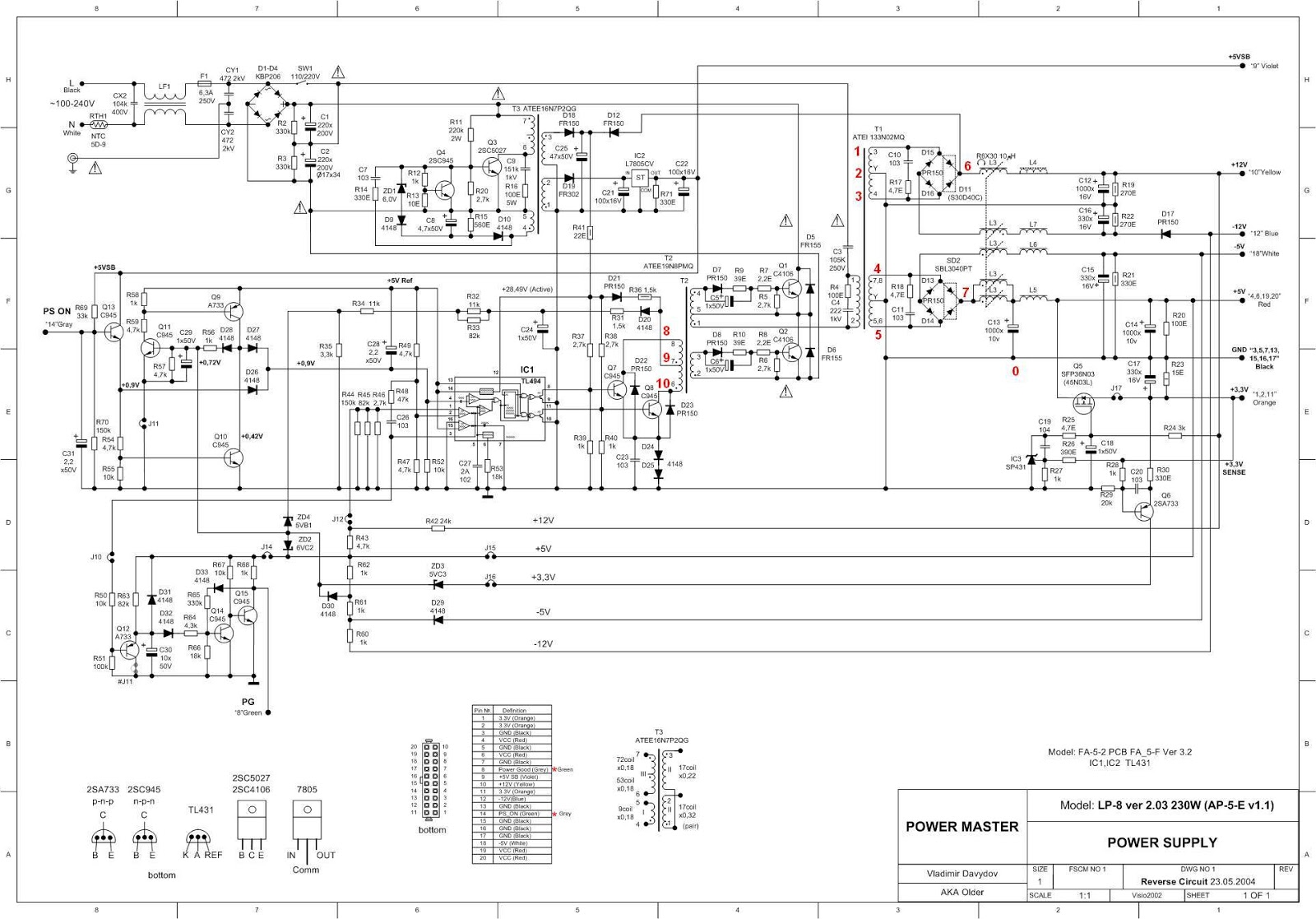 Embedded Systems Circuit Diagram For Stepper Motor Driver Using Uc3717a Atx Sourse Of Power Oscillogramm