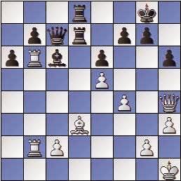 Partida de ajedrez Carbó Batlle vs. Marín i Llovet, posición después de 28…h6