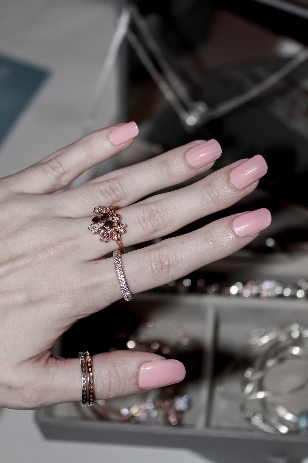 Jessica Nails Spring Collection Pinkies Up