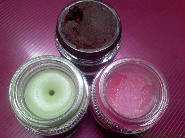 SkinCafe Organic Lip Scrub, Butter & Tint Balm