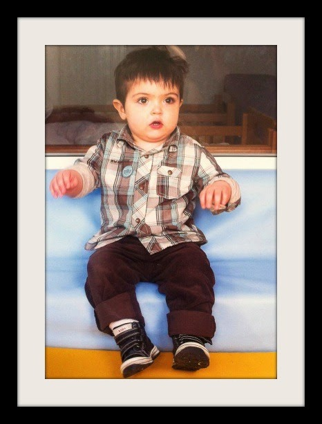 School Photos: Leo at the creche
