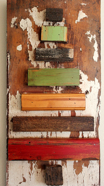 christmas tree, scrap wood, reclaimed wood, Christmas ideas, http://bec4-beyondthepicketfence.blogspot.com/2015/10/its-beginning-to-look-lot-like.html
