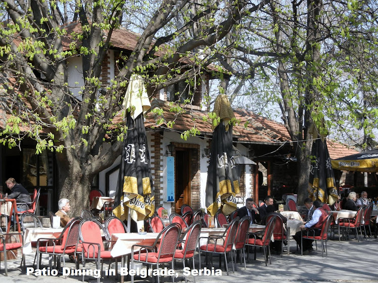 Patio Dining in Belgrade