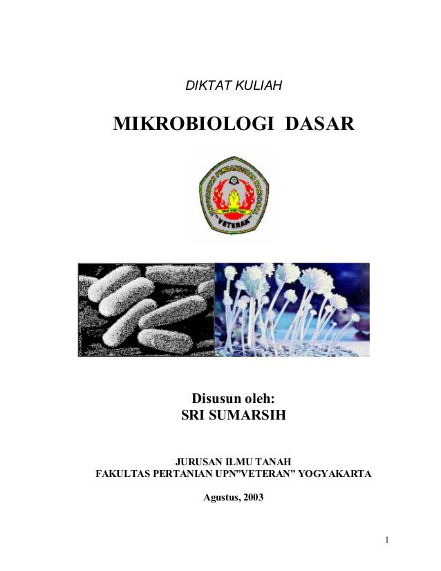 Download Buku Mikrobiologi Dasar Oleh Asriadi