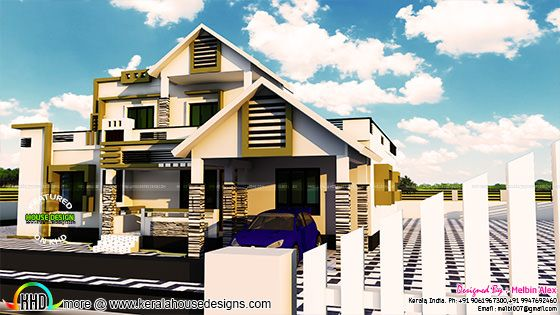 New home at Mavelikara, Alappuzha
