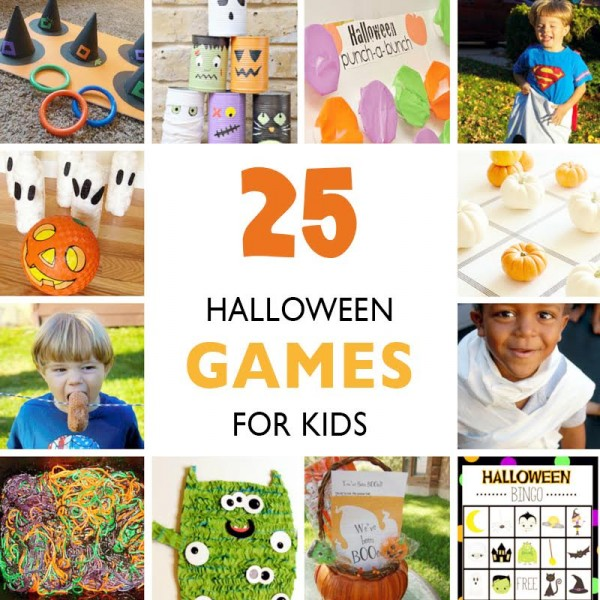 Games And Other Activities On Halloween Festival - Halloween Day Party Activities For Kids