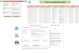 Download Aplikasi Kwitansi Laporan LPJ BOS Tahun 2018 Otomatis Cetak