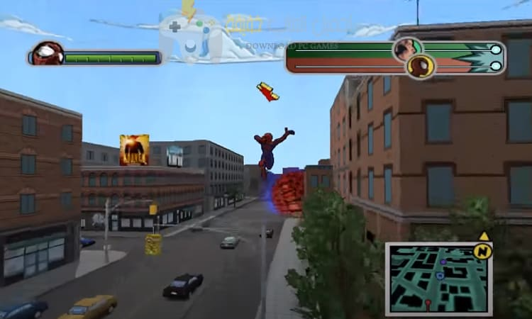 تحميل لعبة ultimate spider man