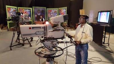 Dilip Kumar Biswas, Cameraman, DDK Kolkata retires