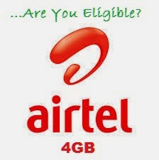 airtel+4g Tech: How To Be Eligible For Airtel 4GB BIS Data Plan