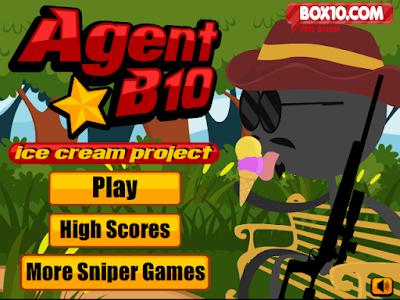 火柴人狙擊手(Agent B10),很不錯的狙擊手射擊休閒遊戲!