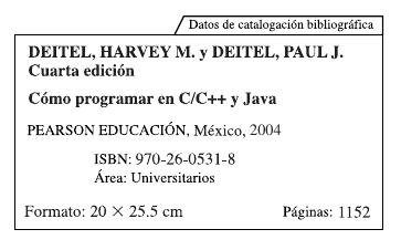 Libro c mo programar en c c y java tecno codigo for Como programar en java