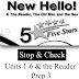 مراجعة على أول 6 وحدات والقصة فى اللغة الإنجليزية للصف الثالث الاعدادى الترم الأول
