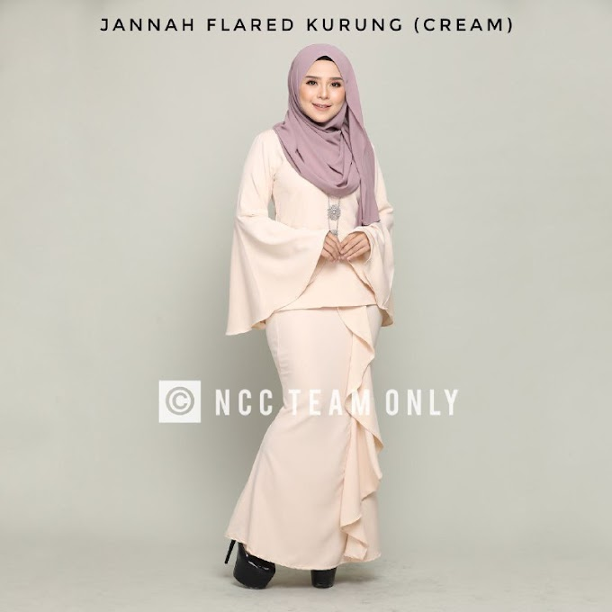 JANNAH FLARED KURUNG