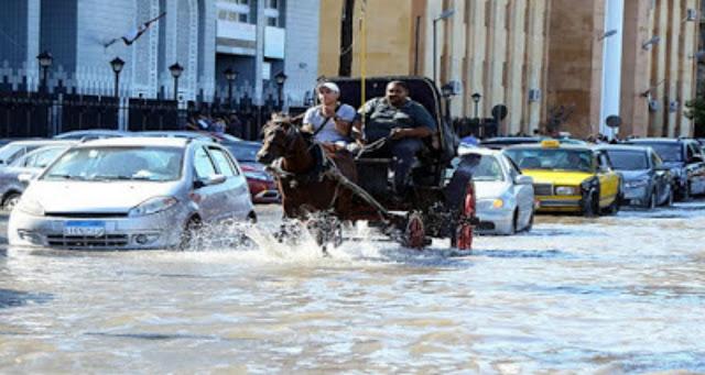 تحذير من موعد بداية سقوط الامطار من قبل رئيس هيئة الأرصاد الجوية في مصر