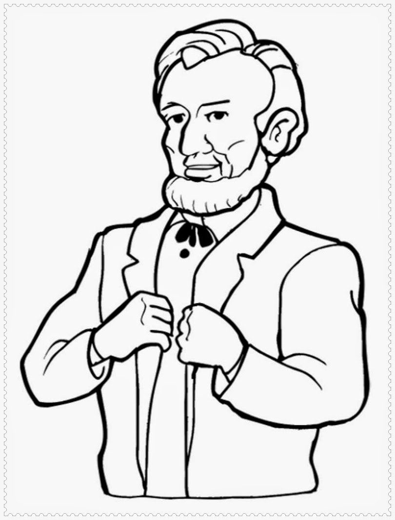 free presidents coloring pages | President's Day Coloring Pages | Realistic Coloring Pages