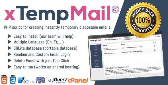 Xtempmail Temporary Disposable Mail