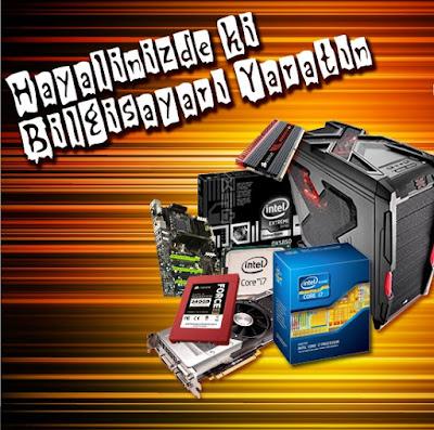 Bilgisayar satın alırken yardımcı olacak PC Toplama sihirbazı