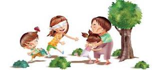 Como Brincar de Cabra Cega com as Crianças