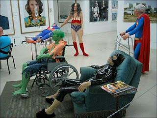 super héroes