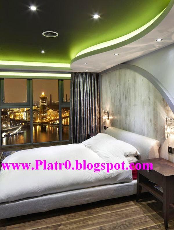 Chambre Coucher Moderne 2015 Faux Plafond En Platre