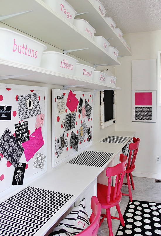 Iheart Organizing Reader Space Pretty In Pink Craft Space