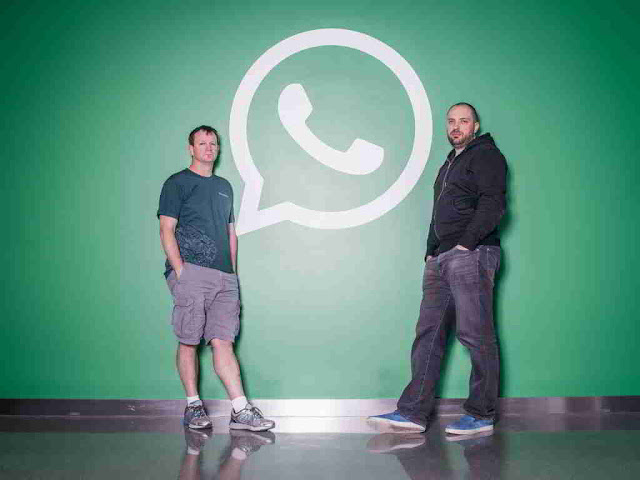 WhatsApp founders Brian Acton and Jan Koum