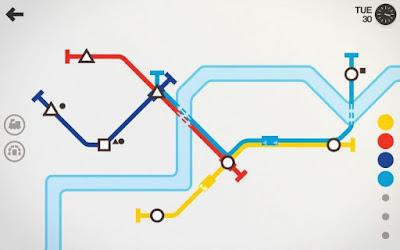 لعبة Mini Metro مدفوعة للأندرويد - تحميل مباشر