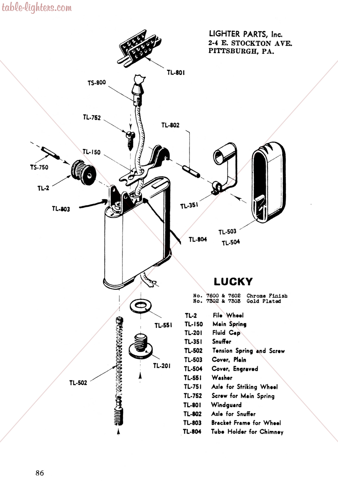 Table Lighters Collectors Guide Lighter Repair Manual For All Cigarette Lighters