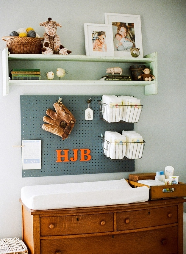 A pegboard is an incredible authoritative device from nursery to the den! Home Decor