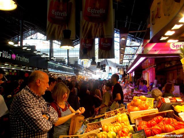 La Boqueria di Barcellona foto