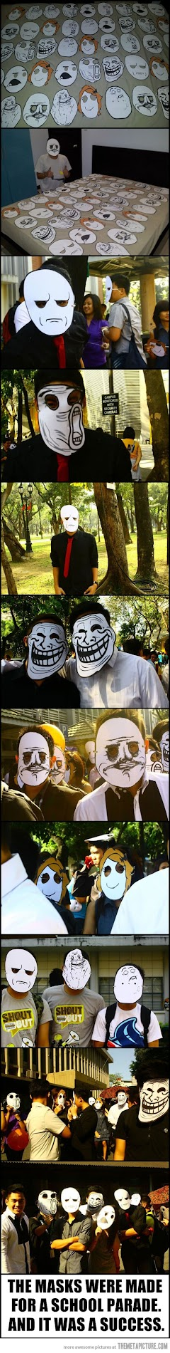 rage face parade