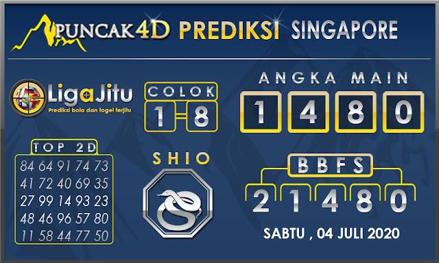 PREDIKSI TOGEL SINGAPORE PUNCAK4D 04 JULI 2020