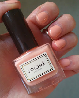 Soigne Nail Polish in Fruit de la Passion swatch