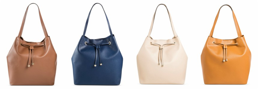 Merona Faux Leather Tote Handbag $20 (reg $40)