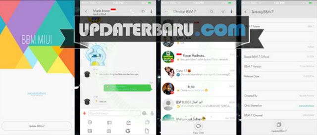 6 Aplikasi BBM Mod Tema MIUI android
