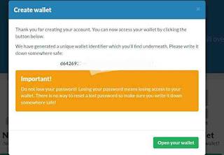 Cara membuat akun wallet dogecoin