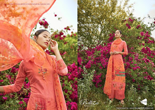 Belliza Zohra Cotton Print Dress Material catalog