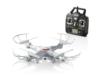 X5C 2.4G 4CH RC Explorers Quadcopter 6 Axis Heli Drone with HD Camera RTF @eBay UK