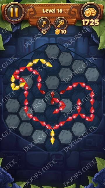 Gems & Magic [Titanium] Level 16 Solution, Walkthrough, Cheats