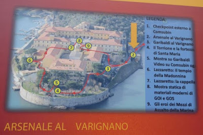 il percorso di visita al Varignano