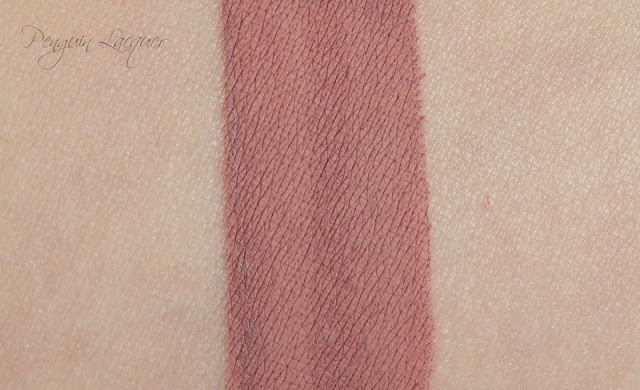 essence coast'n'chill velvet matt liquid lipstick 02 smooth & groove swatch